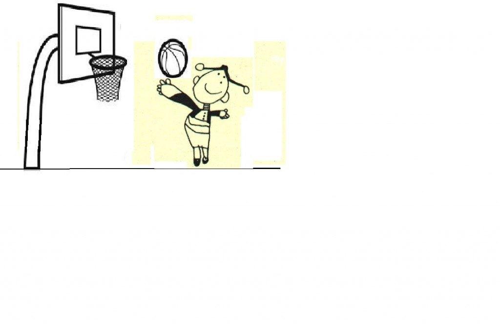 Lupe al baloncesto